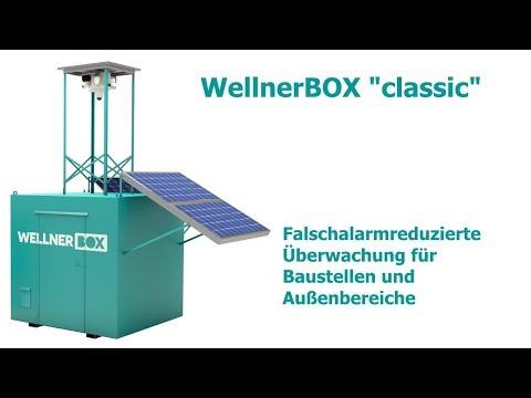 """WellnerBox """"classic"""" - Falschalarmreduzierte Überwachung für Baustellen und Außenbereiche"""