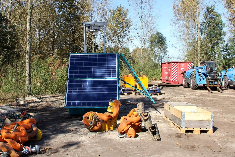 Einsatz bei ArcelorMittal - 4 WellnerBOXen sicherten Fahrzeuge