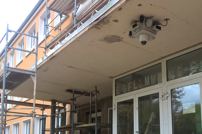 Grundstückssicherung an der Flemming Schule Chemnitz