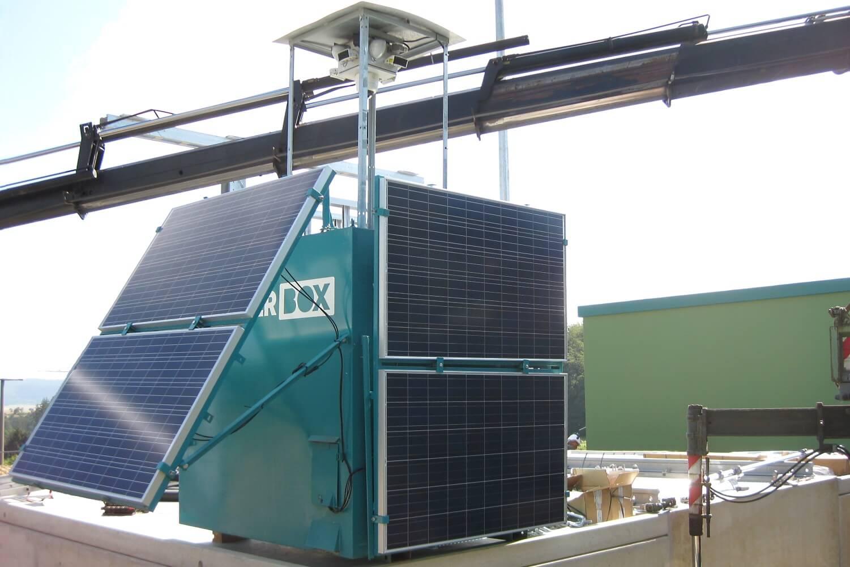Die WellnerBOX schützte Werte und Anlagen von Energieerzeugern