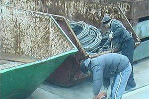 Verifizierter Alarmfall: Diebstahl auf Recyclinghof