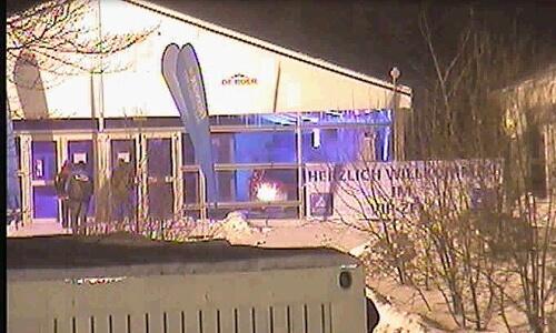 Auch Nächtliche VIP-Zelt-Besucher Werden Erfasst.
