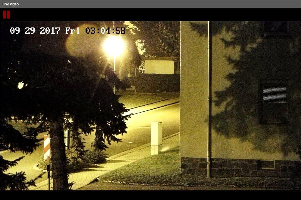 WellnerBOX Kamera_Straße-Gegenlicht_IR-Licht aus