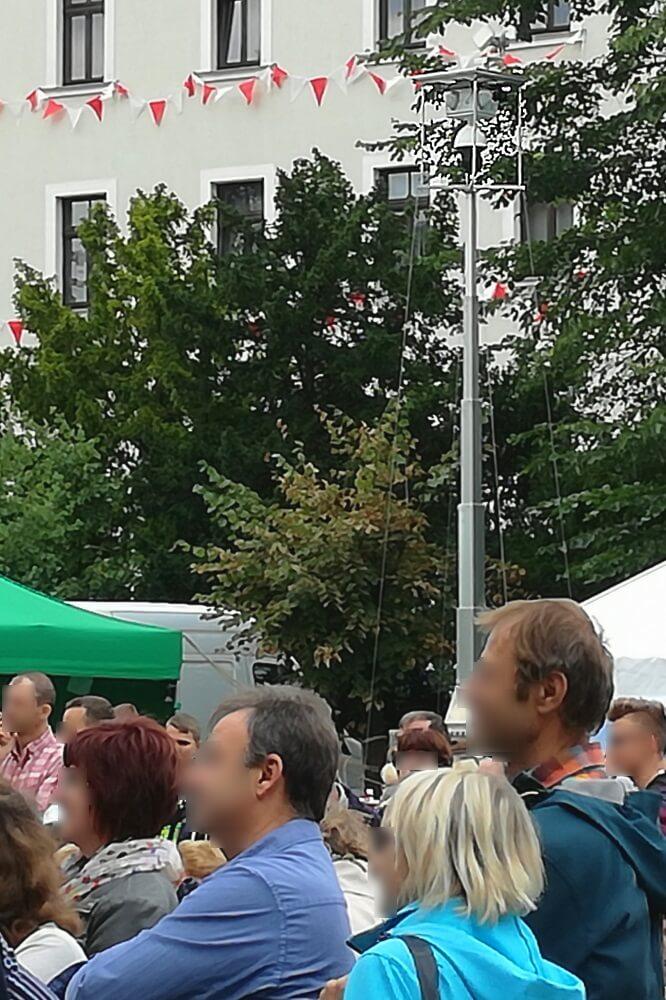 WellnerBOX auf dem Tag der Sachsen