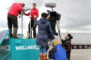 """WellnerBOX bei """"Einfach Genial"""" : Filmdreh in Eilenburg"""
