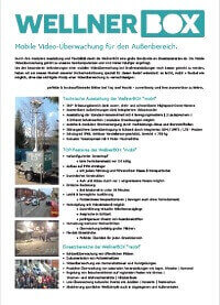 Flyer WellnerBOX deutsch
