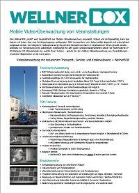 Flyer Videoüberwachung von Veranstaltungen-deutsch