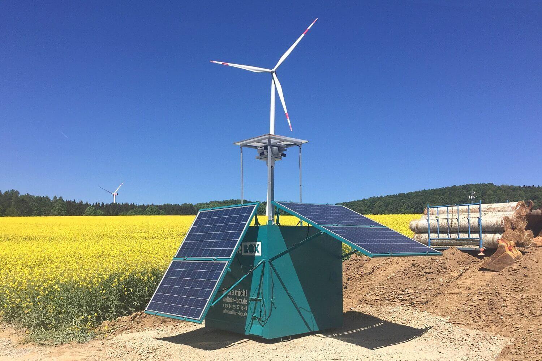 Hier entsteht ein UW für den Windpark Trendelburg