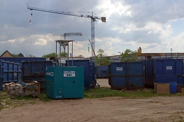 Diebstahlschutz für gelagertes Gut der FiB Fernmelde- und Elektroanlagen in Pforzheim