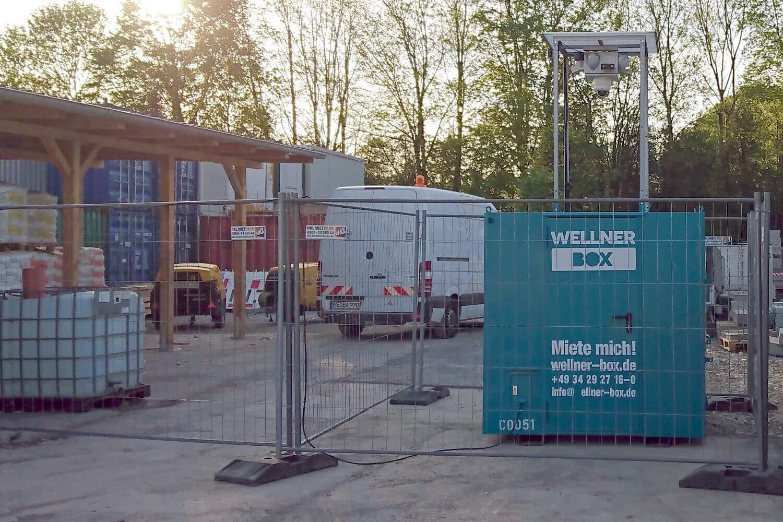 Diebstahlschutz eines Lagers der FiB Fernmelde- und Elektroanlagen in München-Lochhausen