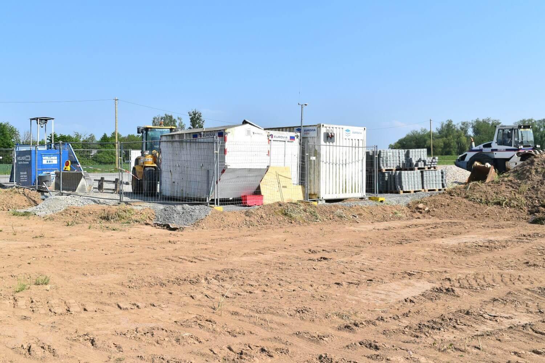 Die WellnerBOX sichert Maschinen, Baustoffe und Container