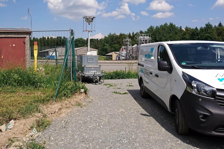 Mobile Videoüberwachung für Mitgas bei Daßlitz
