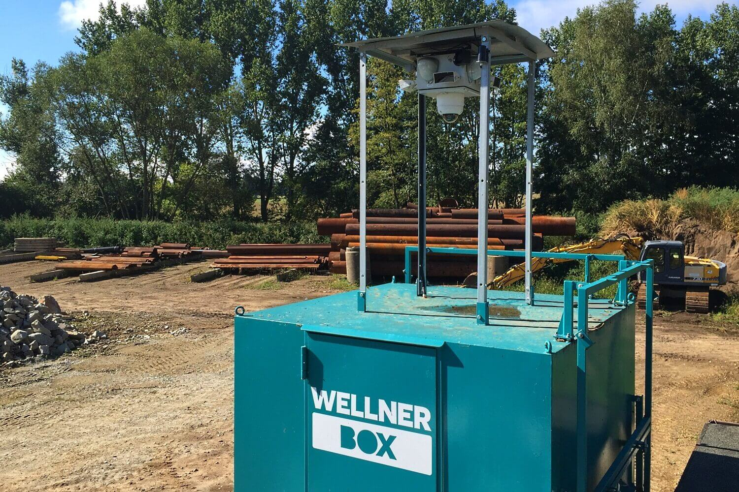 Safety was considered early on - the WellnerBOX at Burg (Spreewald)