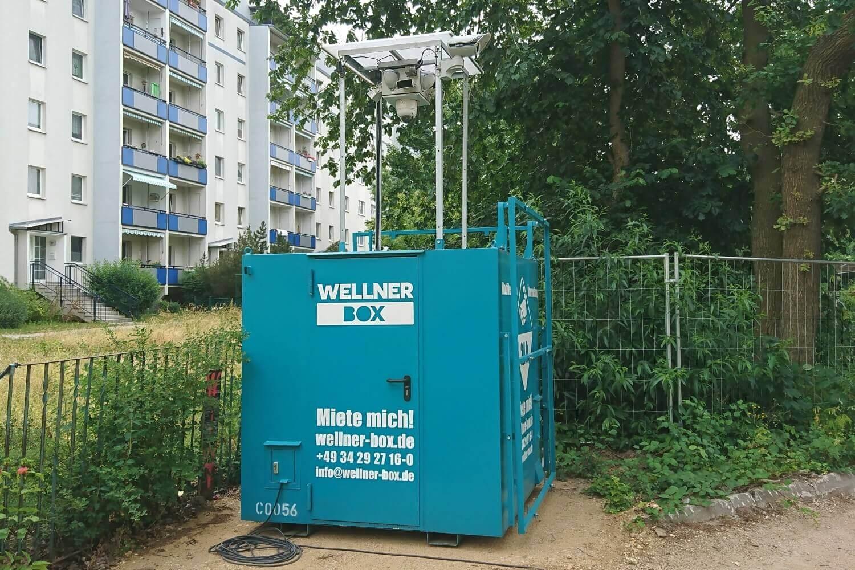 WellnerBOX leaves thieves no chance