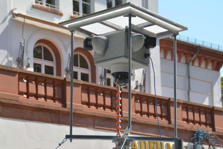 Mobile Videoüberwachung für die hessische Polizei in Bad Soden