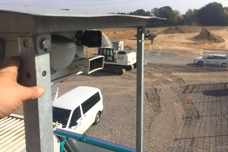 Alles im Blick: Baustellenüberwachung via WellnerBOX