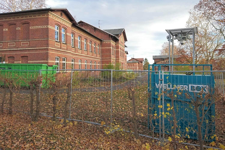 Baustellenüberwachung in Altscherbitz
