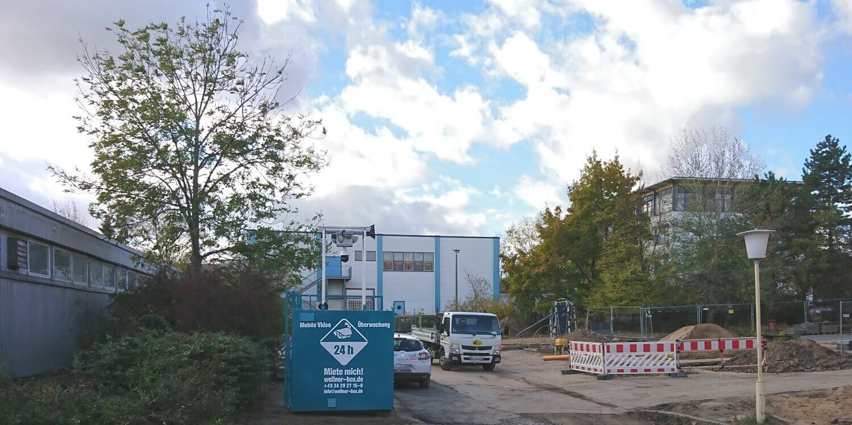 Sanierung ohne Baustellenklau - dank WellnerBOX