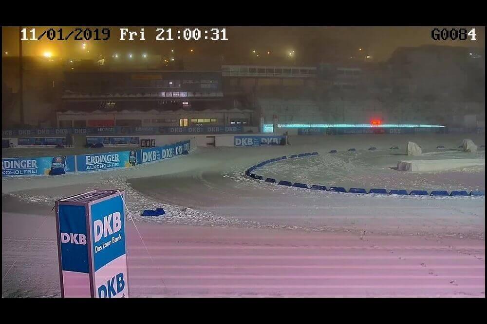 Einsatz in DKB Arena Oberhof 2019
