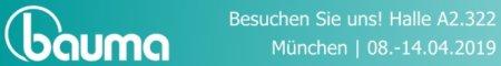 Bauma 2019 Banner de