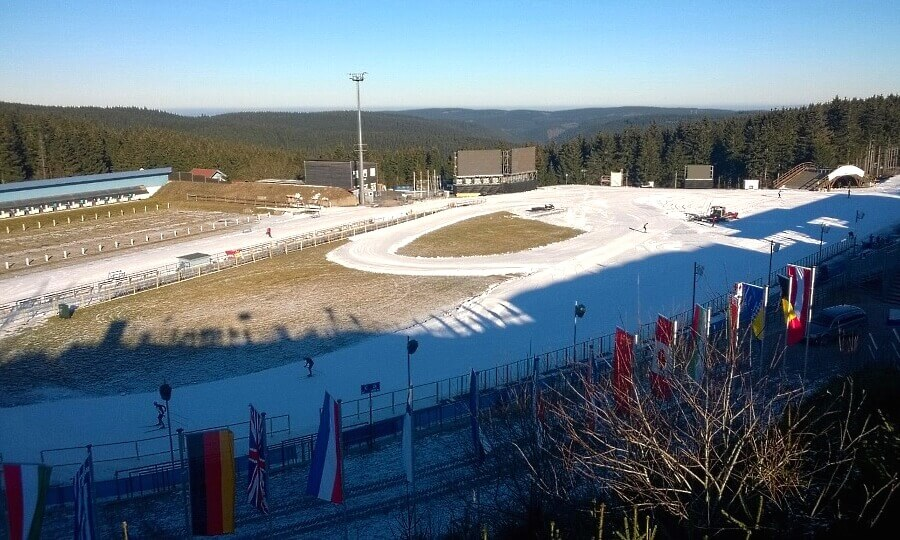 Biathlon World Cup Oberhof - View of the Arena