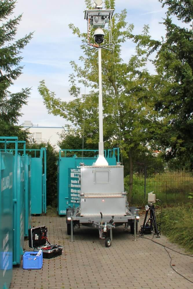 Function test of the directional radio link