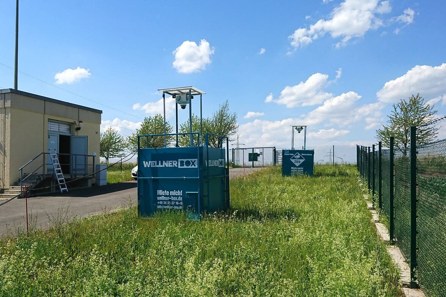 Combined against sabotage and theft - WellnerBOXes in a transformer station