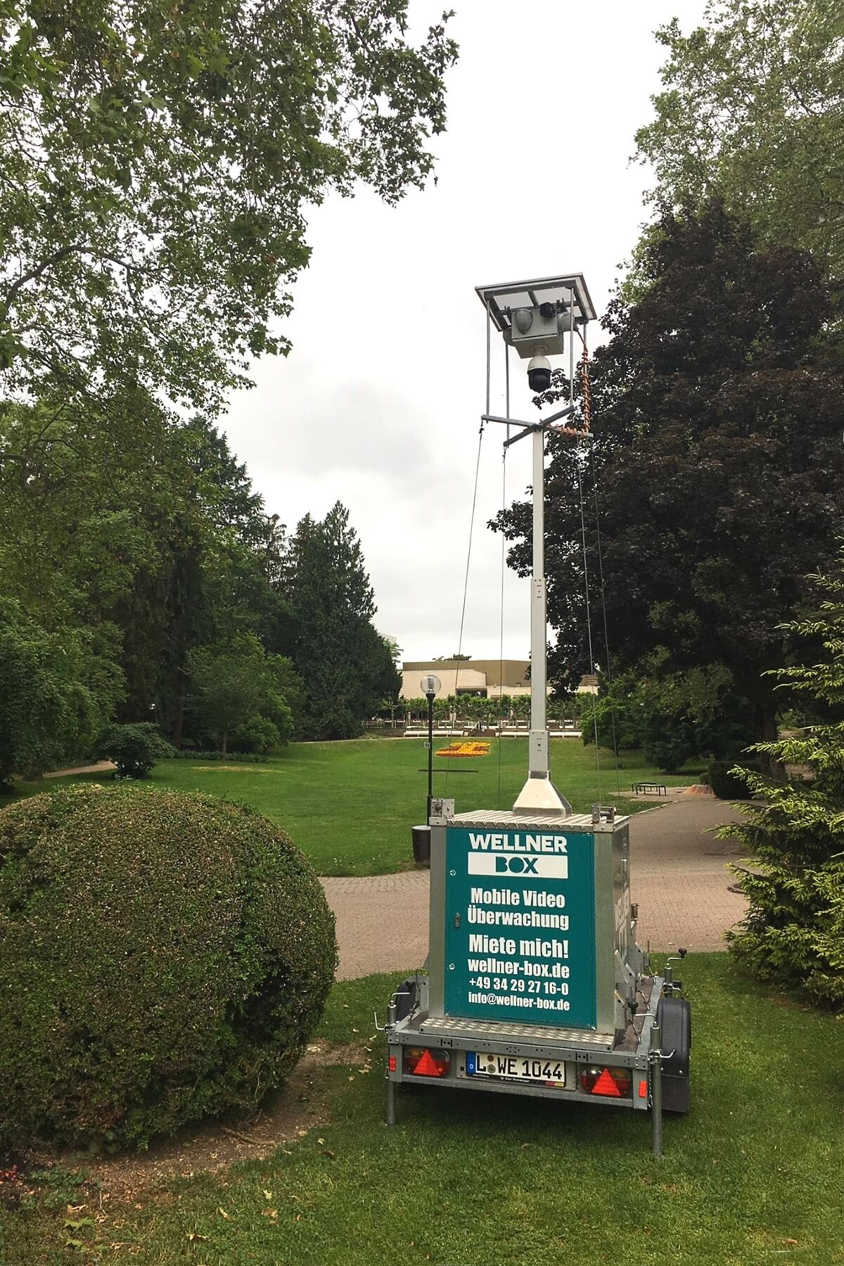 Event monitoring from 07 to 16 June in Bad Soden