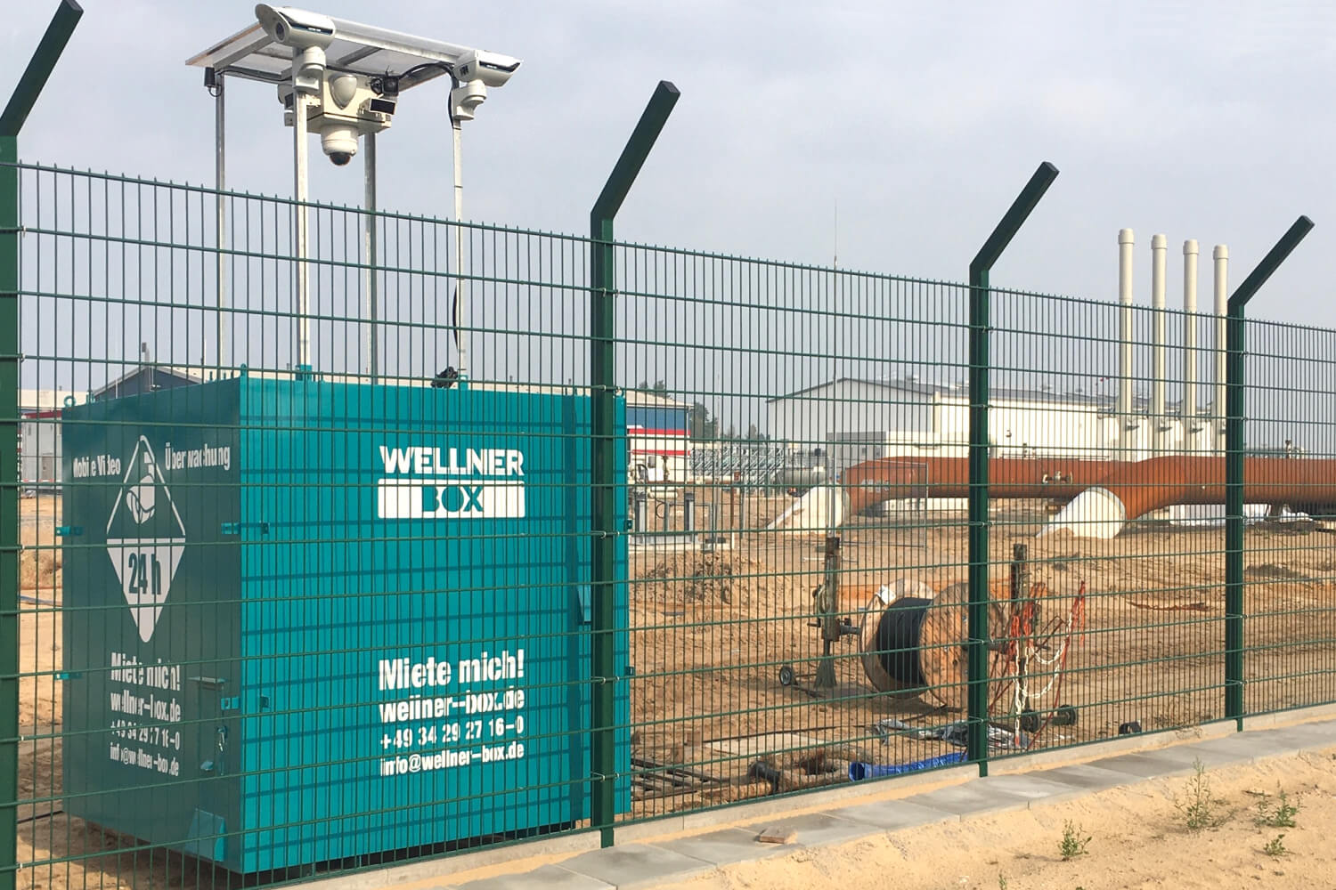 Proactive security solution against sabotage, the WellnerBOX.