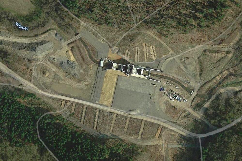 Standort Hochwasser-Rückhaltebecken Wippra