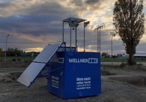 WellnerBOX Auf Einer Baustelle Kabelsketal